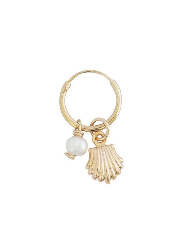 Bobby Rose Earring Perla Shell