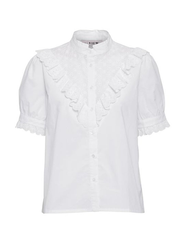 A-view Blouse Gabriella White