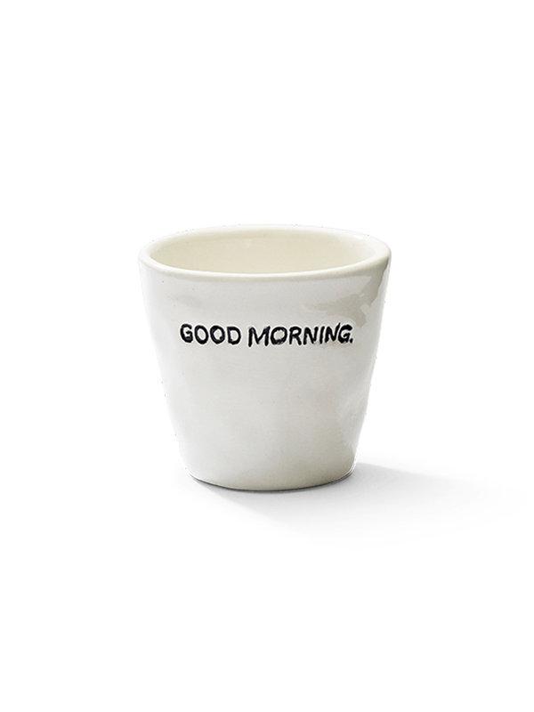 Anna + Nina Espresso Cup Goodmorning