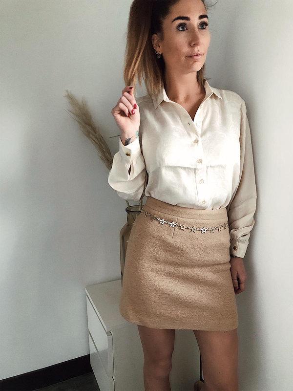 Fabienne Chapot Amber Blouse Off-white Dreams Paisley jacquard