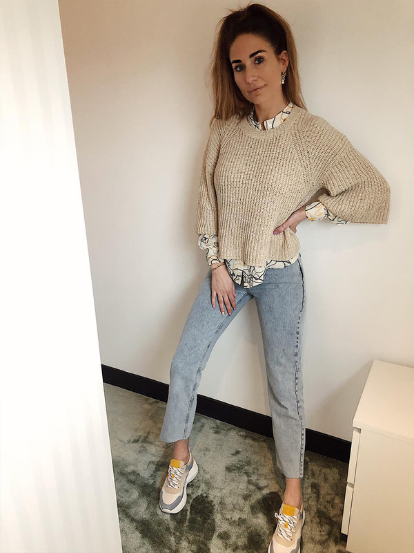 Aaiko Thalia Oyster Sweater