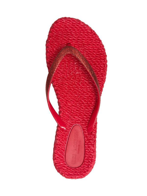 Ilse Jacobsen Deep Red Flipflops