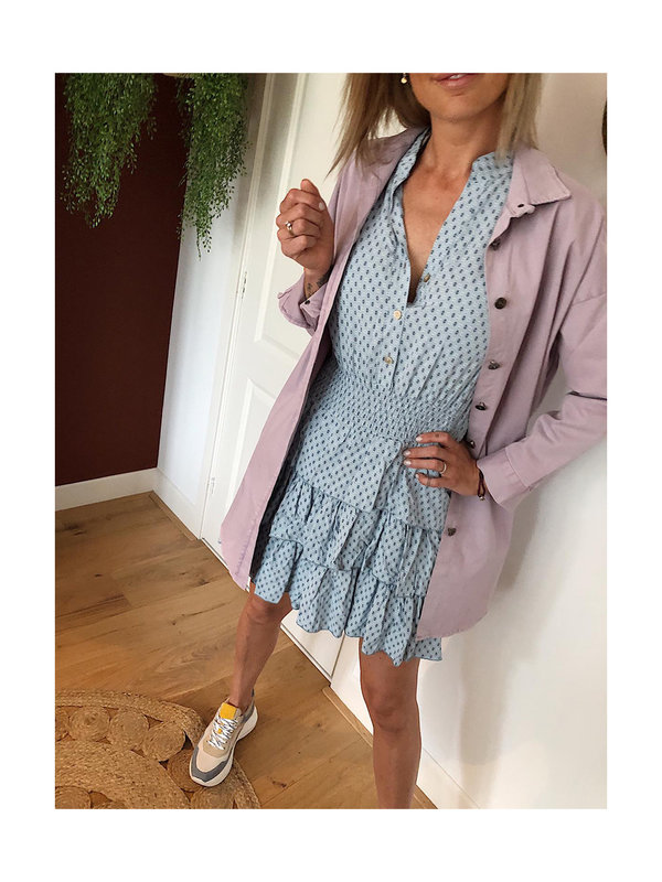 By Sara Collection Milou Dress Blue