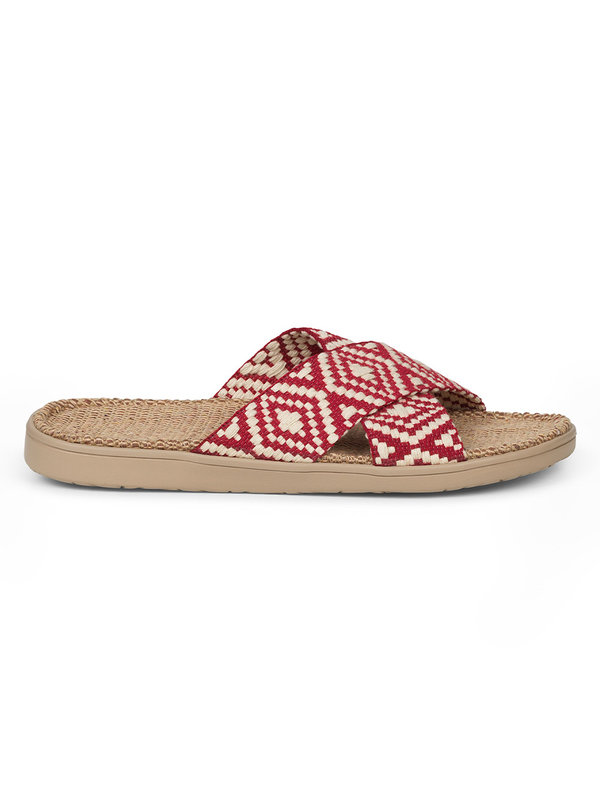 Lovelies Gili Slipper Red