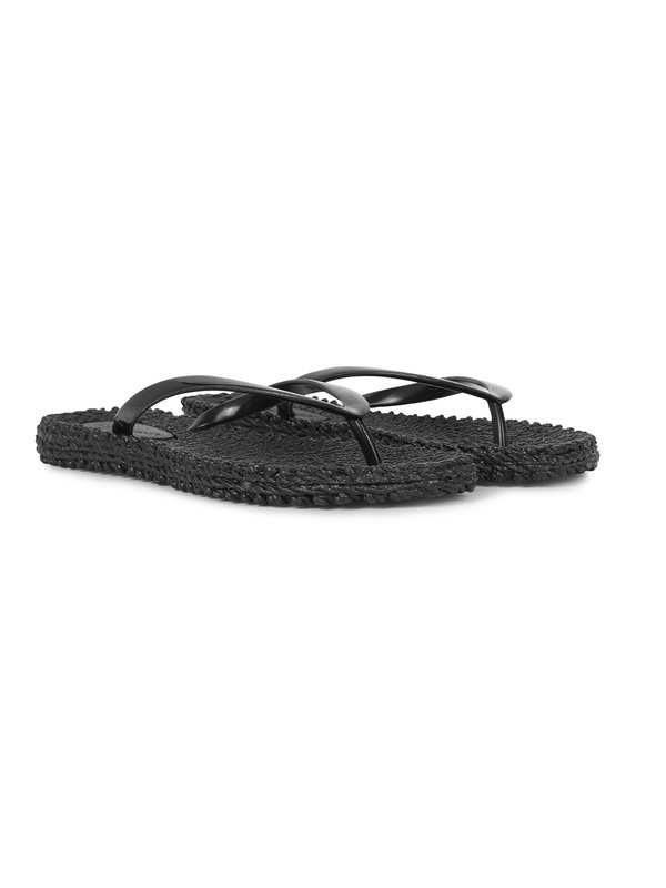 Ilse Jacobsen Black Basic Flipflops