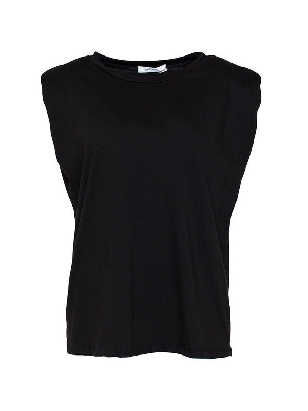 By Sara Collection Rianne Top Zwart One Size