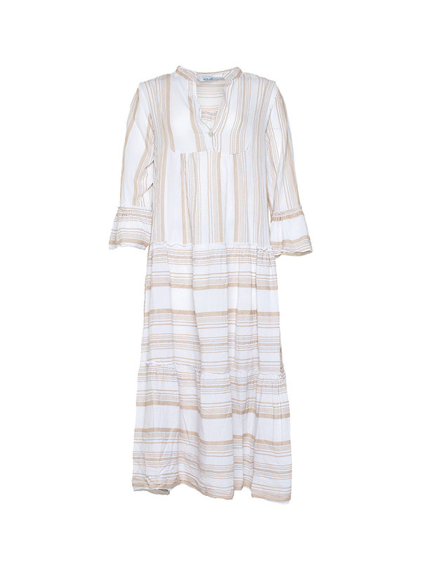 By Sara Collection Dress Santo Beige One Size