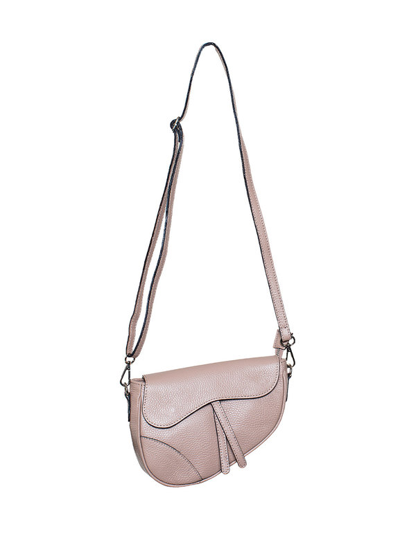 By Sara Collection Bag Daisy Echt Leder Beige