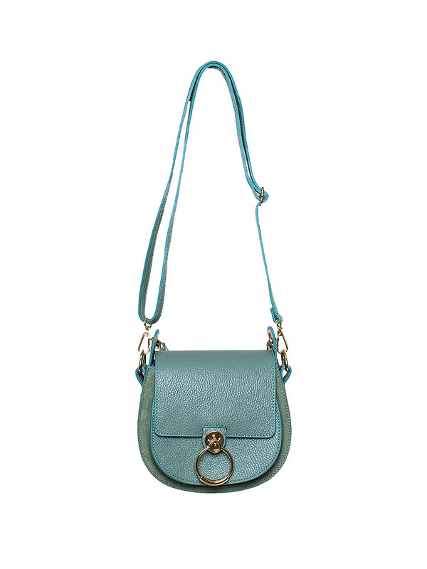 By Sara Collection Gianna Bag Classic Grain Groen