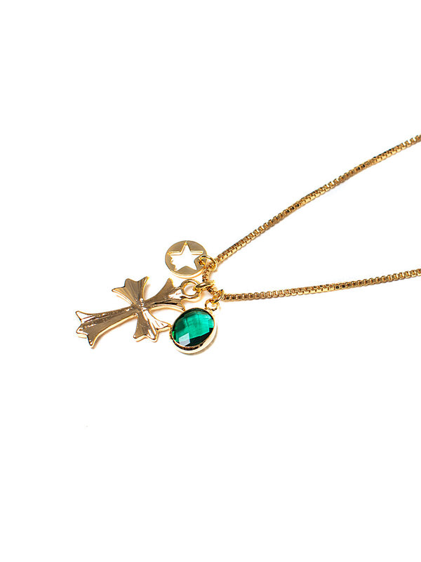 By Sara Collection Necklace Pray For Love Gold Plated