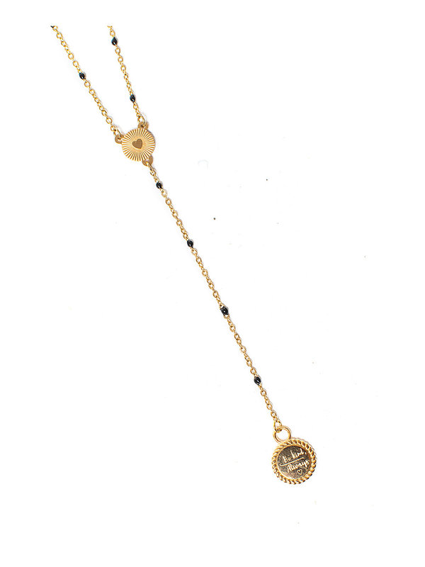 By Sara Collection Necklace Always Be Kind Gold Plated