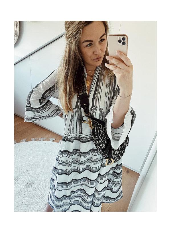 By Sara Collection Dress Santo Zwart One Size