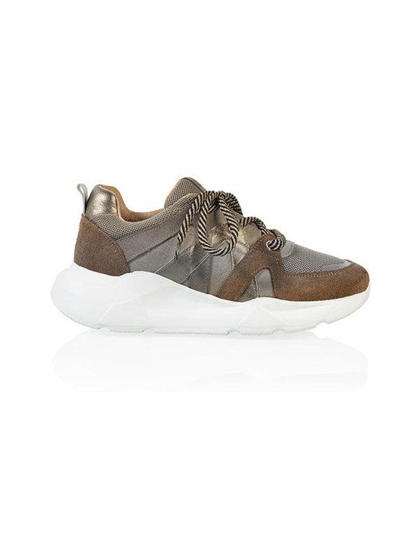 DW\\RS Sneaker New Jersey Cognac/Beige/Smoke