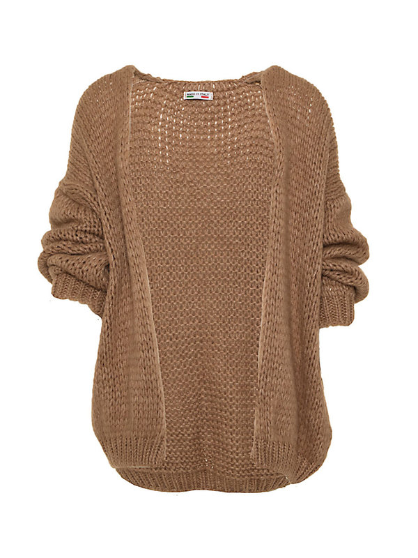 By Sara Collection Lola Knit Brown One Size