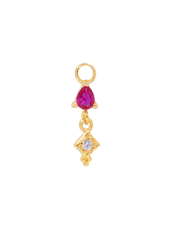 Eline Rosina Single Pendant in Gold Plated 18