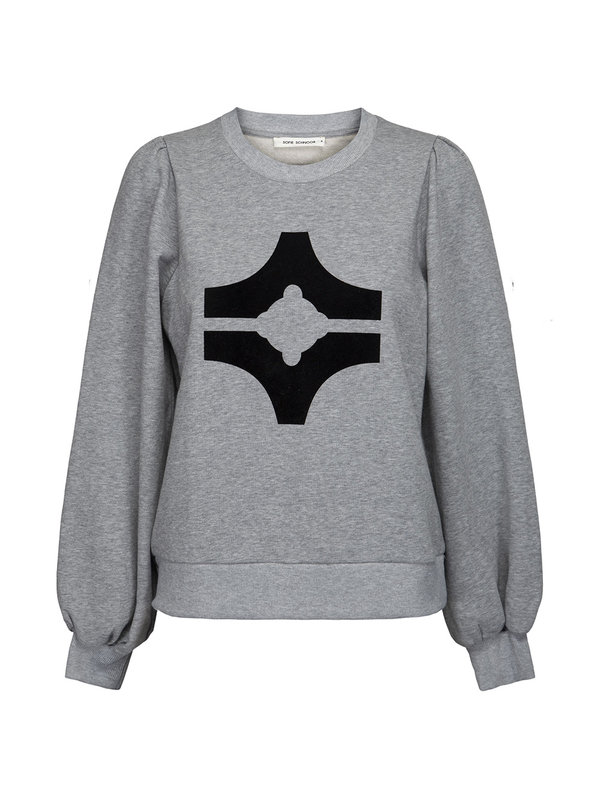 Sofie Schnoor Edith Sweater Grey Mel