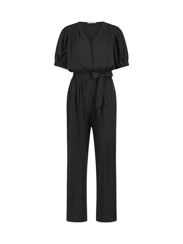 Shivani Black jumpsuit