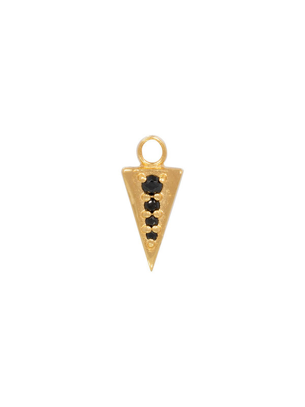 Eline Rosina Single Pendant Gold 16