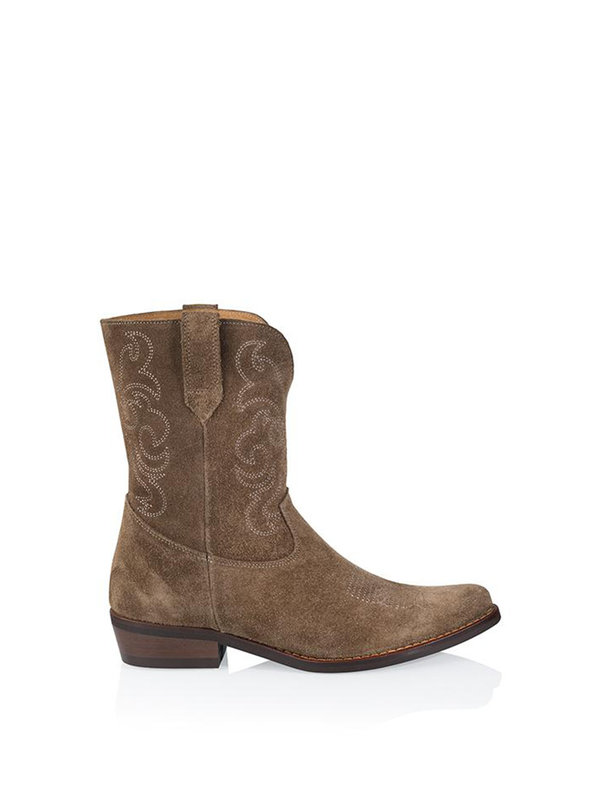 DW\\RS Toscane Westernboot Brown