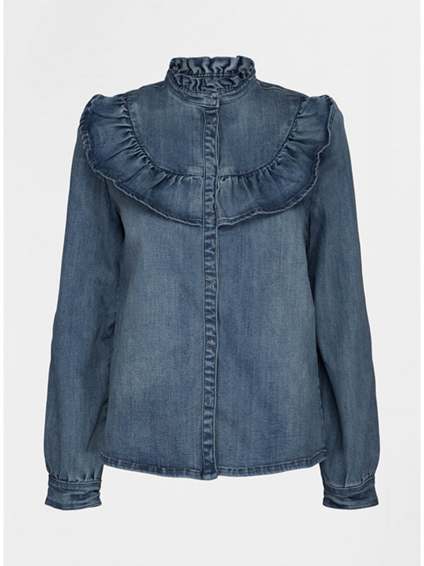 Sofie Schnoor Shirt Silke Denim Blue