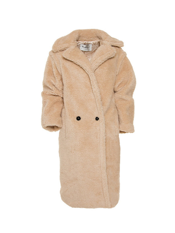 Teddy Coat Ecru