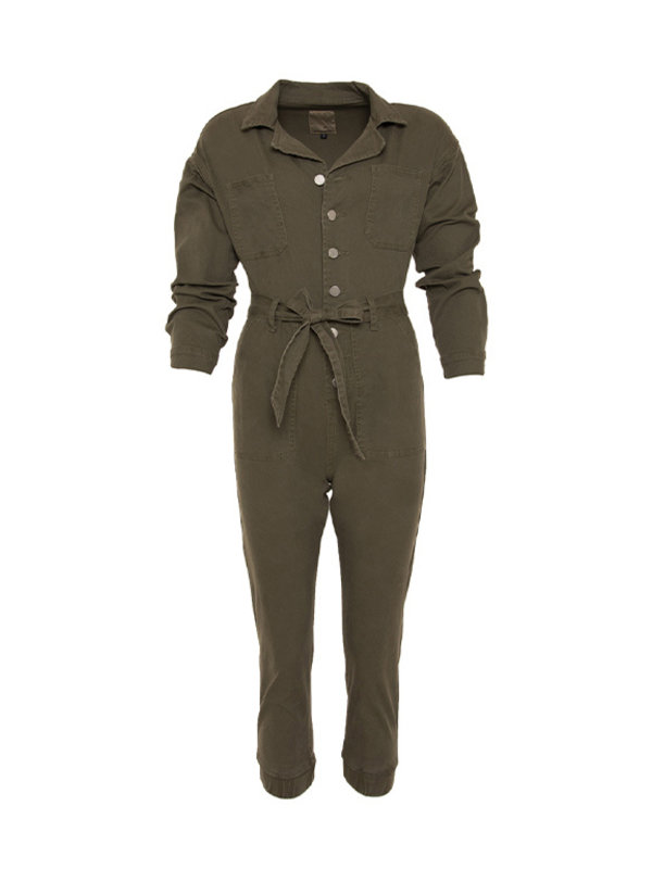 By Sara Collection Lucy Suit Army