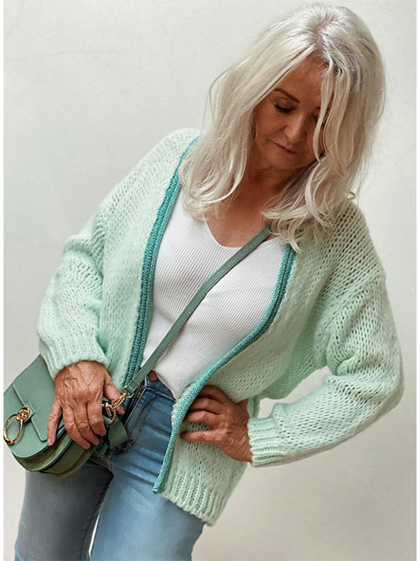 By Sara Collection Nina Knit Mint