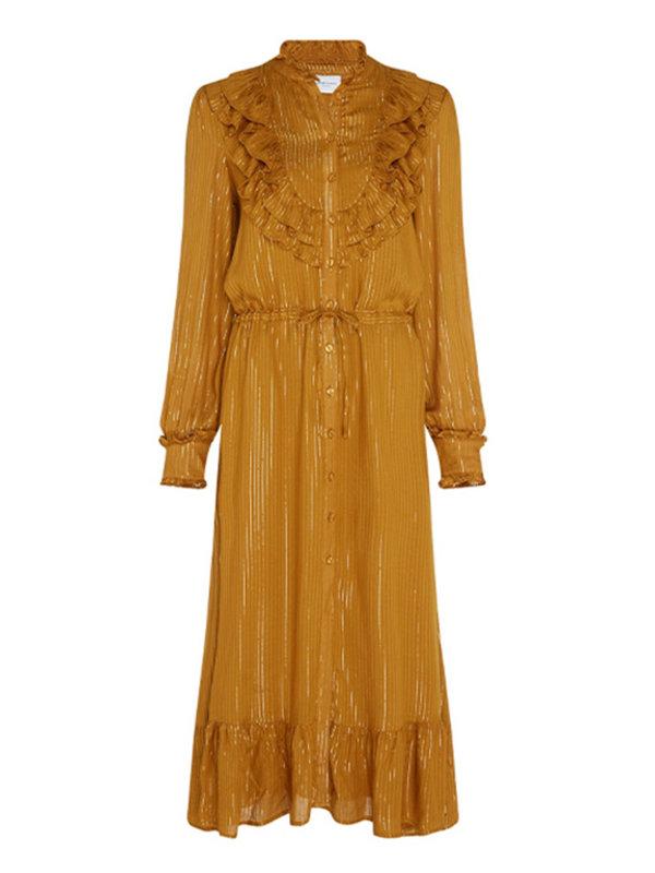 Fabienne Chapot Fia Cato Dress Mustard