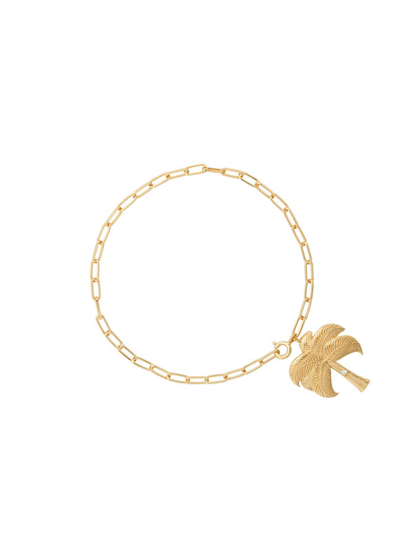 Anna + Nina Twinkling Palm Bracelet Goldplated