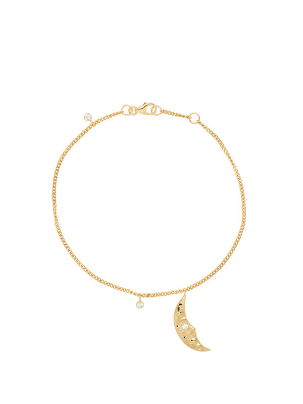Anna + Nina Moonlight Bracele Goldplated