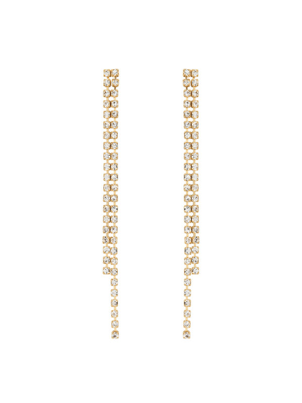 Anna + Nina Raindrop Earrings Goldplated