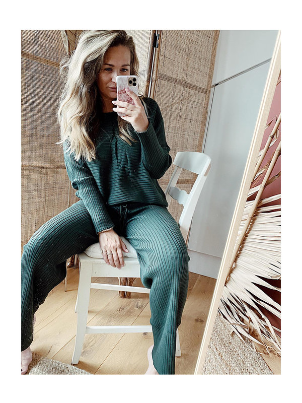 By Sara Collection Elip Comfy Set Army