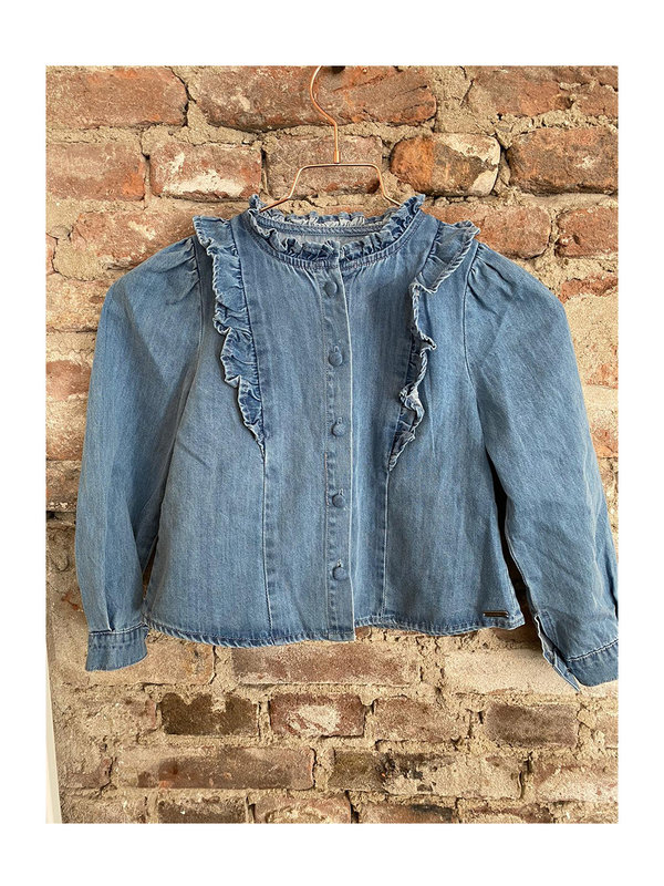 By Sara Collection KIDS Jeans Blouse