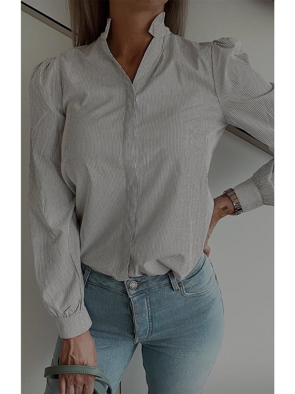 A-view Blouse Iben White
