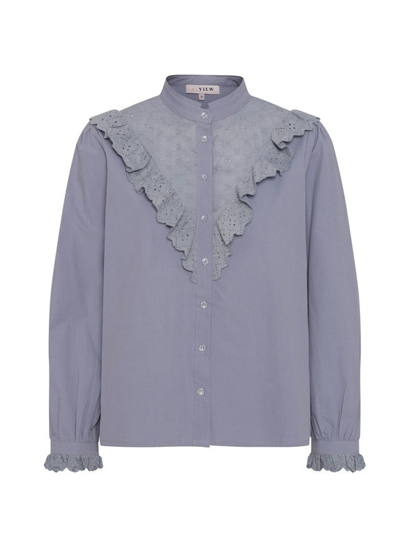A-view Katja Shirt Blue Powder