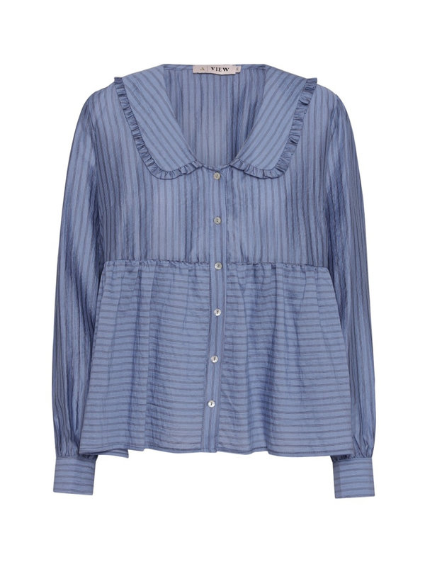 A-view Karoline Shirt Blue