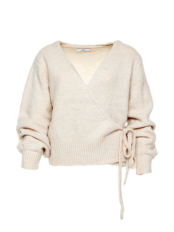 By Sara Collection Crème White Pullover One Size