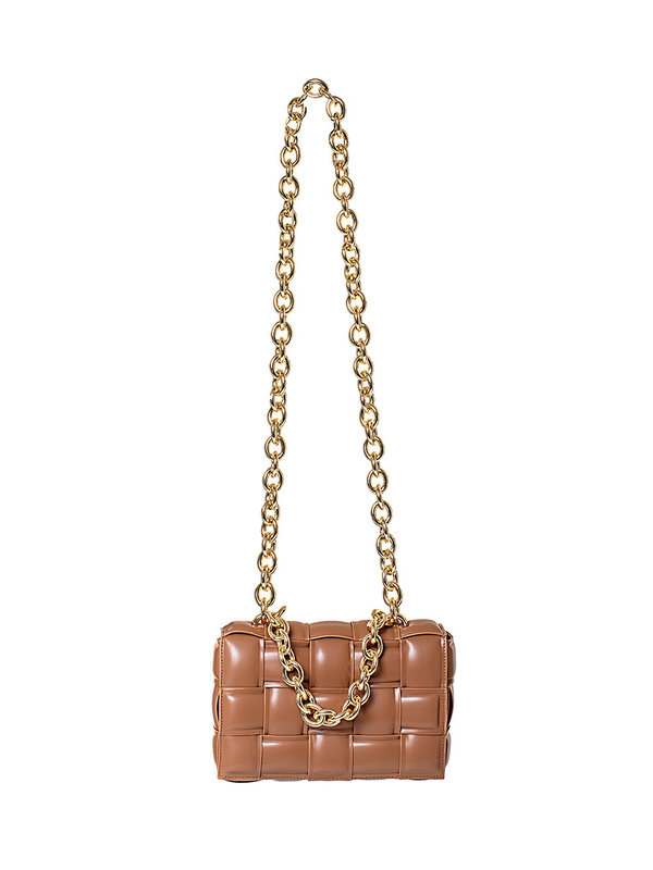 By Sara Collection Bandy Bag Brown