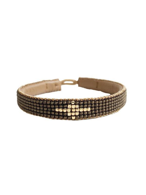 Ibu Jewels Bracelet Diamond Bronze