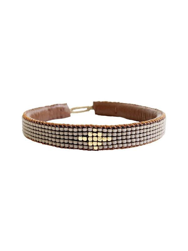 Ibu Jewels Bracelet Diamond Taupe