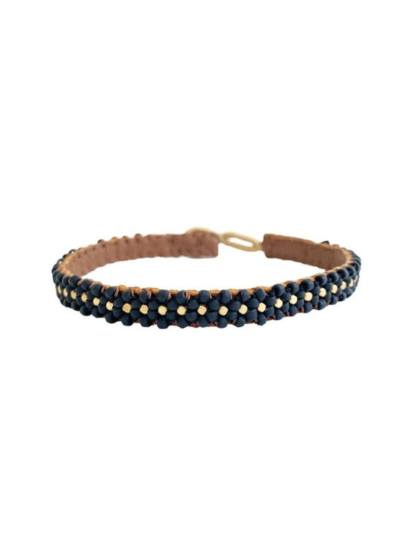 Ibu Jewels Bracelet Lace Black RJ01