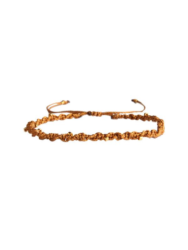 Lobibeads Armband Oaker Geel 117
