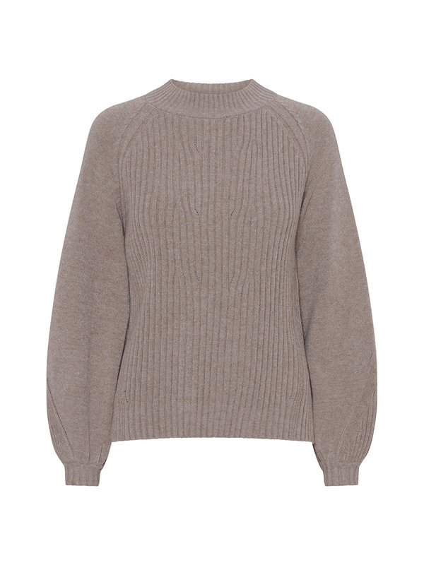 A-view Luca Top Turtleneck Nature