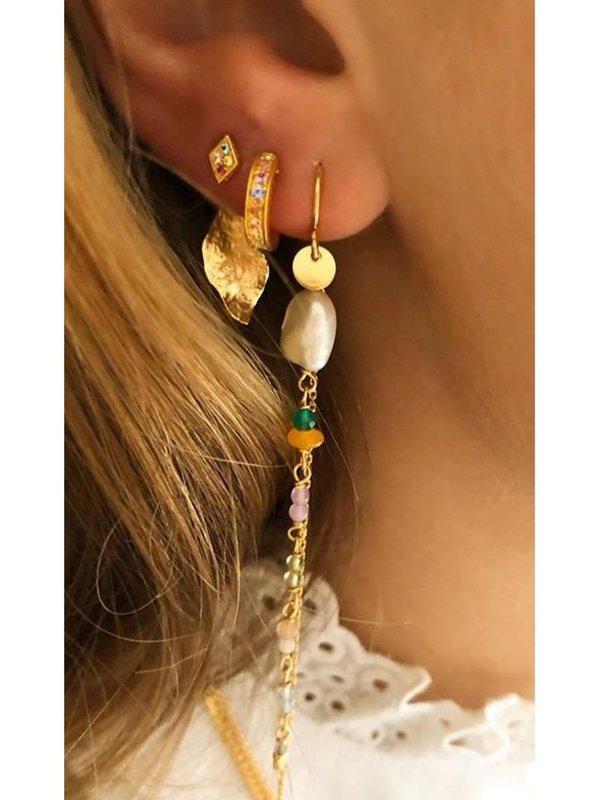 Stine A Ile De L'amour Behind Ear-Earring Gold
