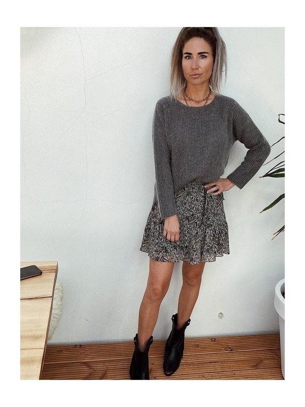 Aaiko Palermo Mohair Stormy Grey
