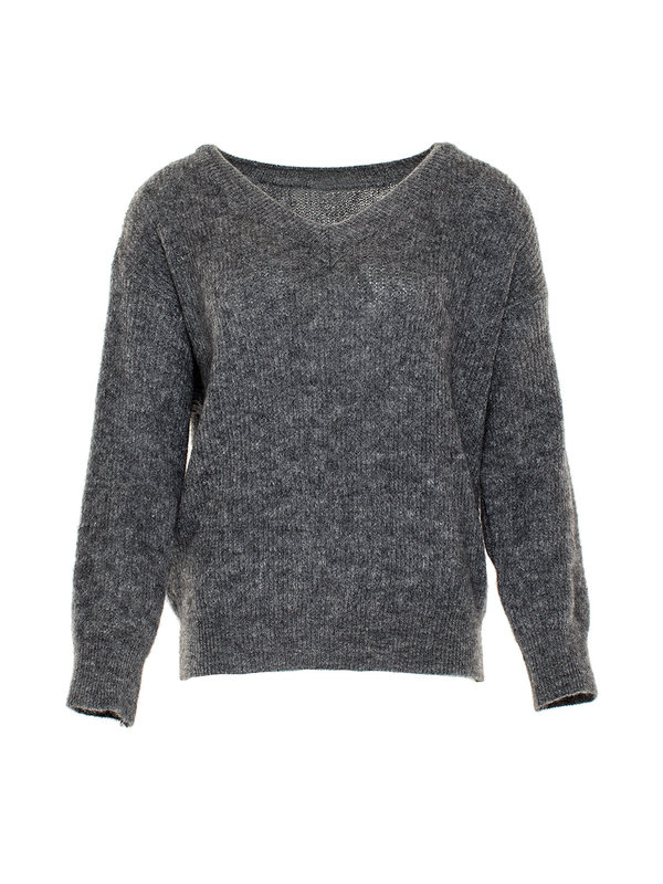 By Sara Collection Joan Knit Grey