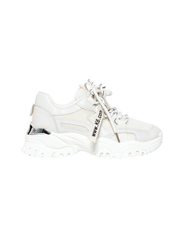 By Sara Collection Sasha Off White Sneaker