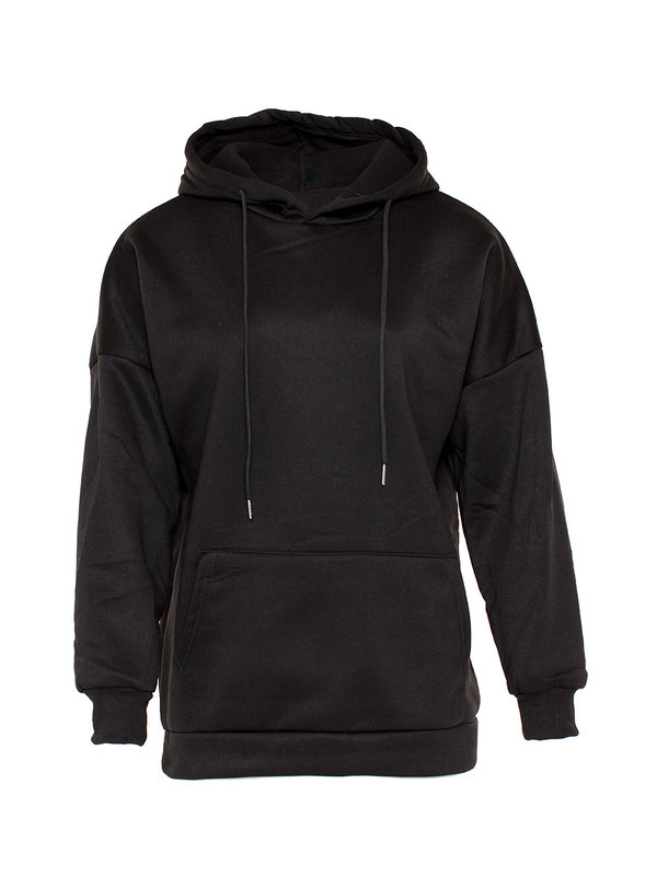 By Sara Collection Koko Hoodie Black