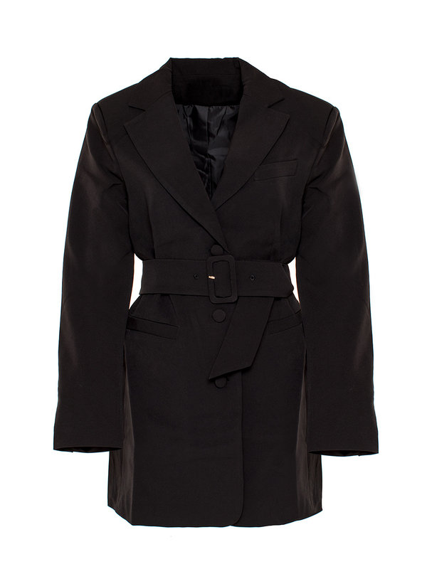 By Sara Collection Gigi Blazer Dress Black