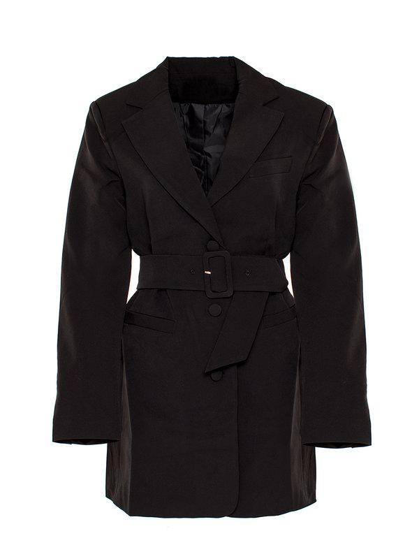 By Sara Collection Gigi Blazer Dress Black